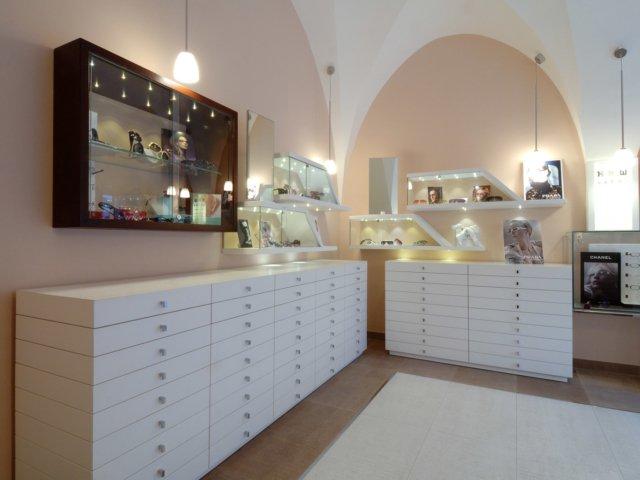 Palazzo Ottica Progetto Arredi Su Misura