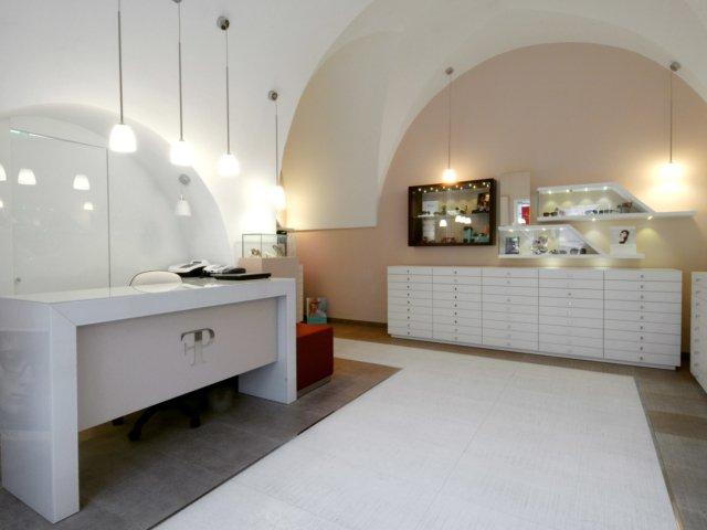 Palazzo Ottica Progetto Arredi Su Misura Interno