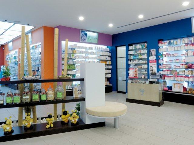 Farmacia Deperna Progetto Arredamenti Su Misura Pavimentazione