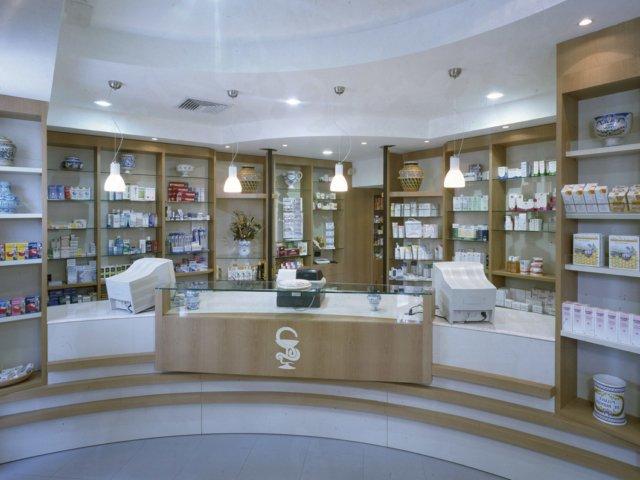 Farmacia Ressa Arredo Chiavi In Mano Bancone