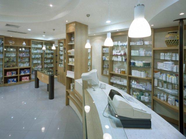 Farmacia Ressa Arredo Chiavi In Mano Interno