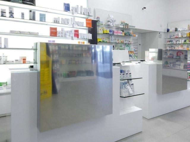 Farmacia Treglia Arredo Chiavi In Mano Bancone