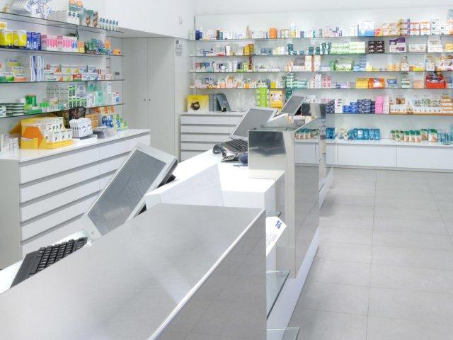 Farmacia Treglia Arredo Chiavi In Mano Interno