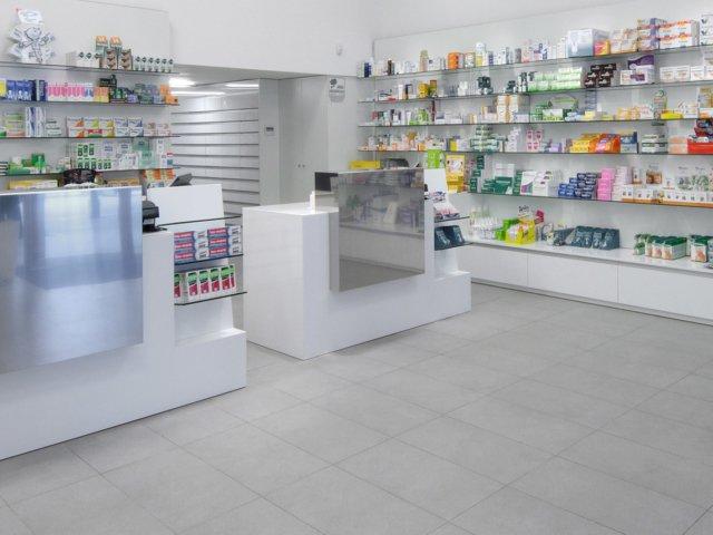 Farmacia Treglia Arredo Chiavi In Mano Pavimentazione