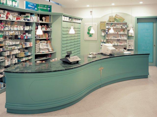 Farmacia Trione Arredo Chiavi In Mano Banco