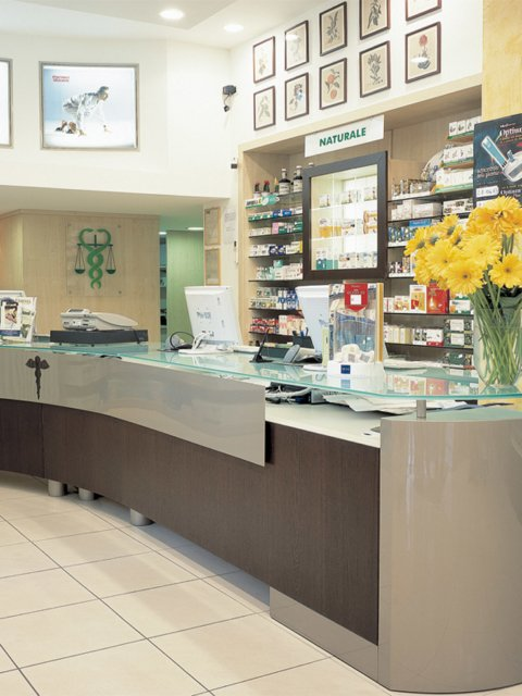 Farmacia Italia Progetto Arredamenti Su Misura Progettazione