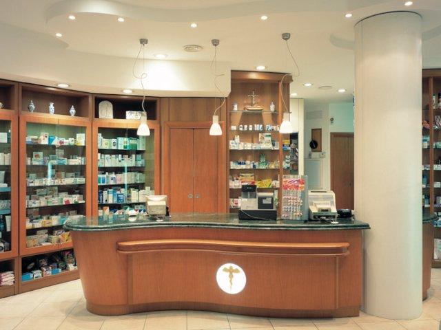 Farmacia Nati Progetto Arredamenti Su Misura Bancone