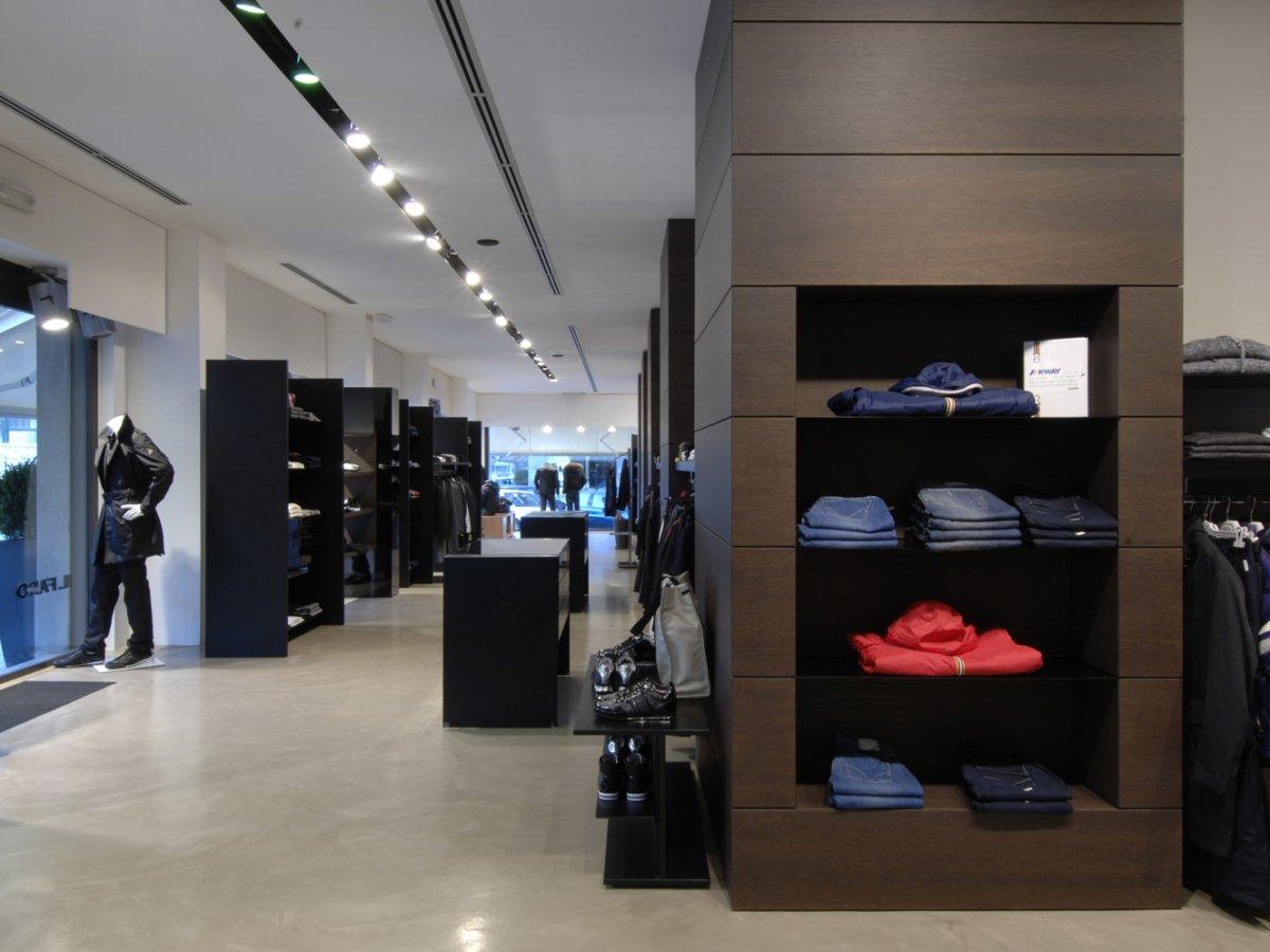 Arredamento negozi abbigliamento il faro avellino campania