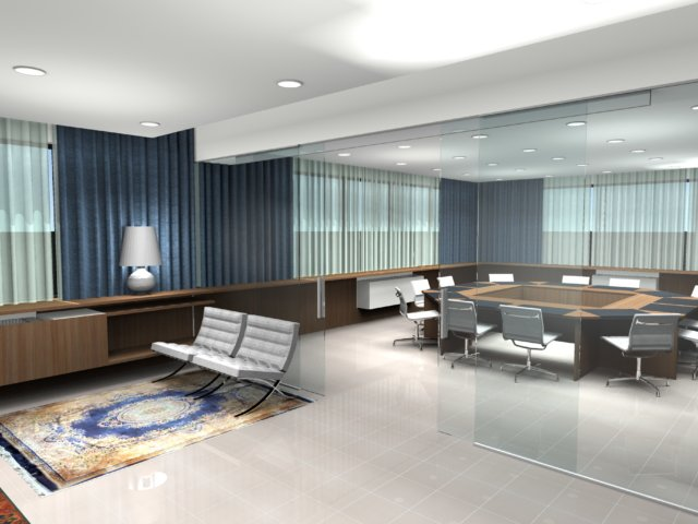 Progetto Contract Magazzile Rendering