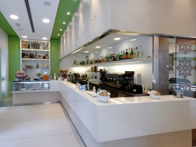 Bar Mokambo Progetto Arredamenti Su Misura Illuminazione