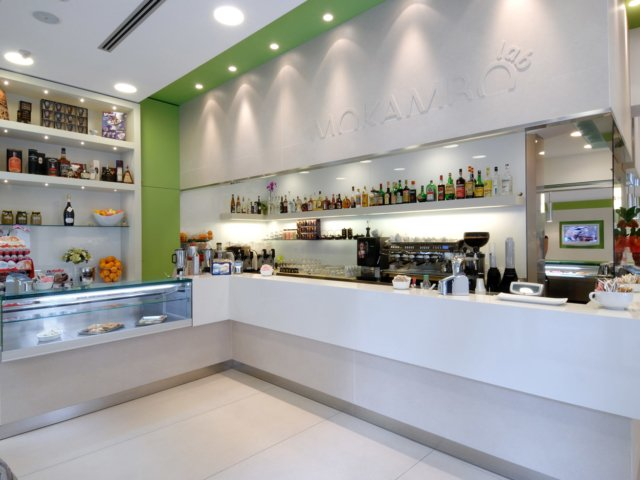 Bar Mokambo Progetto Arredamenti Su Misura Luci