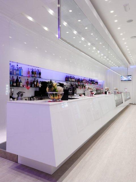 Bar Blanco Progetto Arredamenti Su Misura Bancone