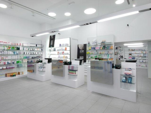 Farmacia Treglia Arredo Chiavi In Mano Illuminazione