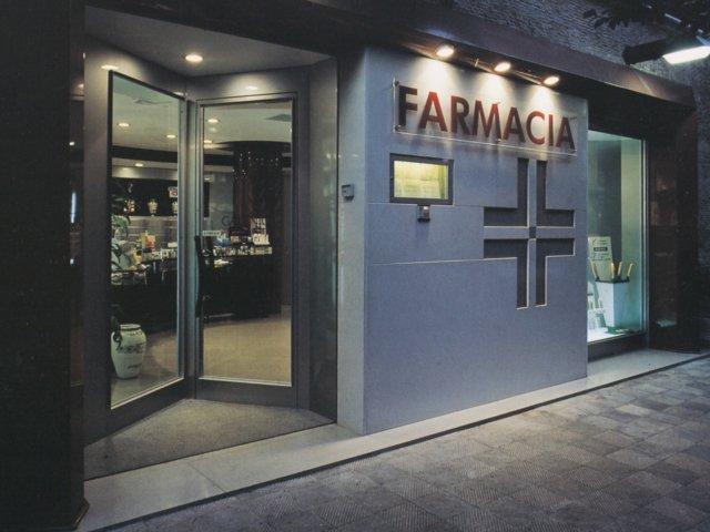 Farmacia Vitiello Arredo Chiavi In Mano Esterno