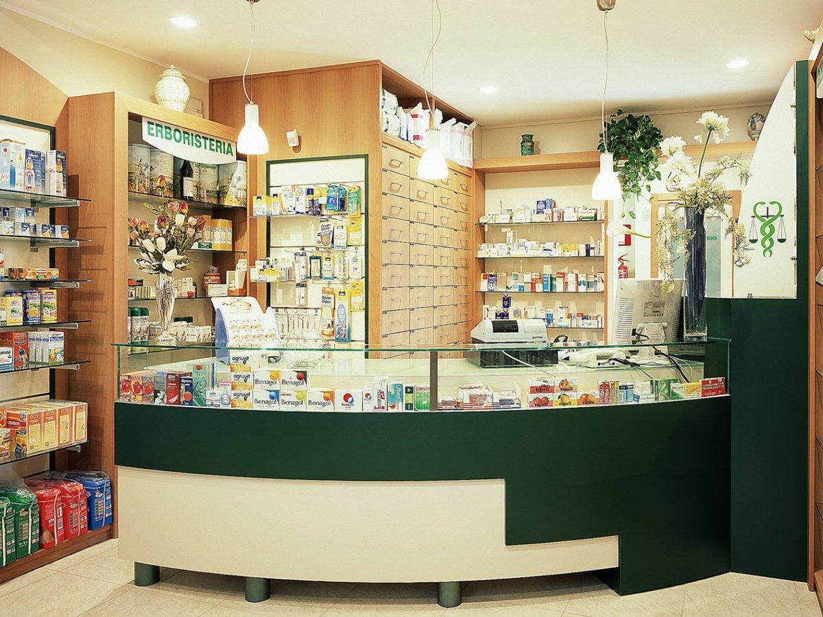Farmacia Virtu Arredo Chiavi In Mano Bancone