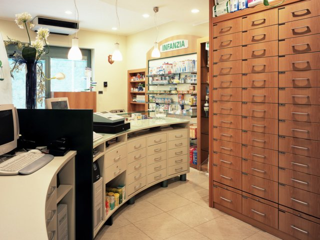 Farmacia Virtu Arredo Chiavi In Mano Interno
